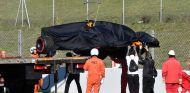 El McLaren de Stoffel Vandoorne en el Circuit de Barcelona-Catalunya - SoyMotor