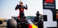 Max Verstappen celebra en SIlverstone - SoyMotor.com