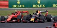 Max Verstappen y Charles Leclerc en el GP de Gran Bretña F1 2019 - SoyMotor
