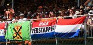 Gradas de Spa animando a Verstappen durante el GP de Bélgica 2016 - SoyMotor