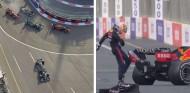 Combate nulo entre Hamilton y Verstappen: errores y accidentes en Bakú - SoyMotor.com