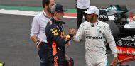 Max Verstappen y Lewis Hamilton en México - SoyMotor.com