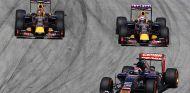 Max Verstappen en Malasia, por delante de los dos Red Bull - LaF1