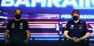 Hamilton y Verstappen, en rueda de prensa - SoyMotor.com