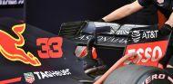 Logo de Aston Martin en el RB14 de Barcelona - SoyMotor.com