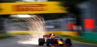 Max Verstappen durante la clasificación del GP de Australia - SoyMotor
