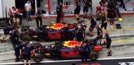 Los RB14 de Max Verstappen y Daniel Ricciardo en Austria - SoyMotor.com