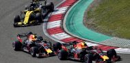 Max Verstappen, Daniel Ricciardo y Nico Hülkenberg en Shanghái - SoyMotor.com