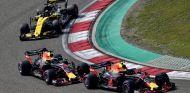 Verstappen, Ricciardo y Hülkenberg en el GP de China 2018 - SoyMotor.com