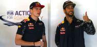 Ricciardo y Verstappen bromean antes del GP de Australia  - SoyMotor