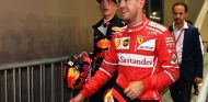 Sebastian Vettel y Max Verstappen en Marina Bay - SoyMotor.com