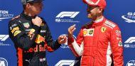 Max Verstappen y Sebastian Vettel en Montreal - SoyMotor.com