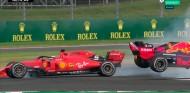 Vettel saca a Verstappen del podio de Silverstone con una embestida - SoyMotor.com