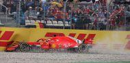 Sebastian Vettel, en el GP de Alemania 2018 - SoyMotor.com