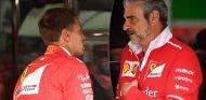 Vettel y Arrivabene - SoyMotor.com