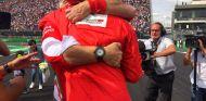 Sebastian Vettel y Maurizio Arrivabene - LaF1