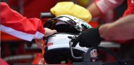 Bolsa de hielos en el SF71H de Sebastian Vettel - SoyMotor.com