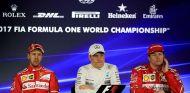 Sebastian Vettel, Valtteri Bottas y Kimi Räikkönen en Brasil - SoyMotor.com