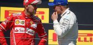 Sebastian Vettel y Valtteri Bottas en Hungaroring - SoyMotor.com
