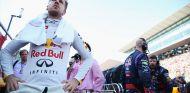 Sebastian Vettel en la parrilla de salida de Suzuka - LaF1