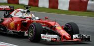 Vettel durante el GP de Canadá - SoyMotor