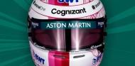 Sebastian Vettel presenta su casco rosa para la temporada 2021 - SoyMotor.com