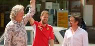 James May, Sebastian Vettel y Richard Hammond - SoyMotor.com