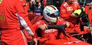 Sebastian Vettel en la parrilla del GP de Australia - SoyMotor