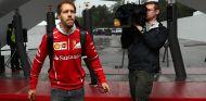 Sebastian Vettel llega a Barcelona - SoyMotor