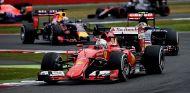 Sebastian Vettel en una imagen de archivo del GP de Gran Bretaña - LaF1