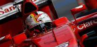 Sebastian Vettel durante la pretemporada - LaF1