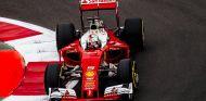 Vettel, durante la calificación en México - SoyMotor
