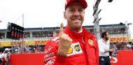 Sebastian Vettel celebra su Pole en el GP de Alemania - SoyMotor
