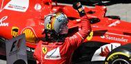 Vettel tras ganar en Interlagos - SoyMotor.com