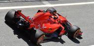 Sebastian Vettel en el test post-GP de España, en Barcelona - SoyMotor.com