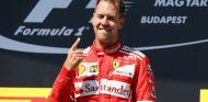 Ferrari, celebrando su victoria en Hungría - SoyMotor.com