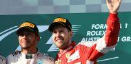 Sebastian Vettel en el podio de Australia - LaF1