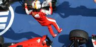 Sebastian Vettel tras su victoria en Sepang - LaF1