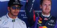 Lewis Hamilton y Sebastian Vettel en Yeongam - LaF1