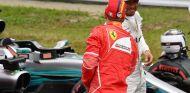 Sebastian Vettel y Lewis Hamilton en Suzuka - SoyMotor.com