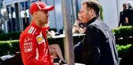 Sebastian Vettel y Christian Horner en una imagen de archivo - SoyMotor