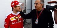 Vettel y Marchionne en 2016 - SoyMotor.com