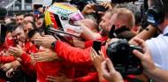 Sebastian Vettel celebra en el GP de Alemania F1 2019 - SoyMotor
