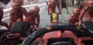 VÍDEO: Cambio de neumáticos en Ferrari al rojo vivo, ¡sin un guante! - SoyMotor.com