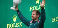 """Vettel sube al podio con rabia: """"Sentía que tenía más ritmo que Ocon"""" - SoyMotor.com"""