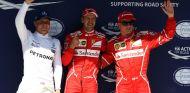 Pole de Vettel y doblete Ferrari en Hungría; Alonso saldrá 7º y Sainz 9º - SoyMotor.com