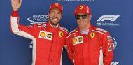 Sebastian Vettel y Kimi Räikkönen en Silverstone - SoyMotor.com