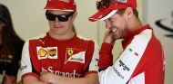 Räikkönen es más feliz con Vettel que con Alonso - LaF1