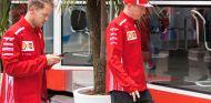 Sebastian Vettel y Kimi Räikkönen en Barcelona - SoyMotor.com