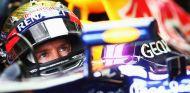 Sebastian Vettel en el Red Bull RB9